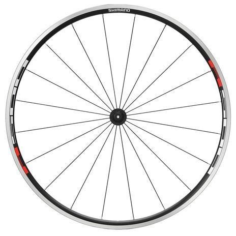 Shimano WH-R501 Front Wheel 700C Black - Cycles Galleria Melbourne
