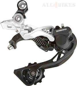 Shimano Rd-M786 Rear Derailleur Xt Shadow+ Medium 2X10 Silver