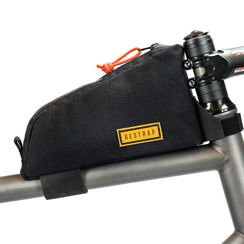 Restrap Top Tube Bag Black