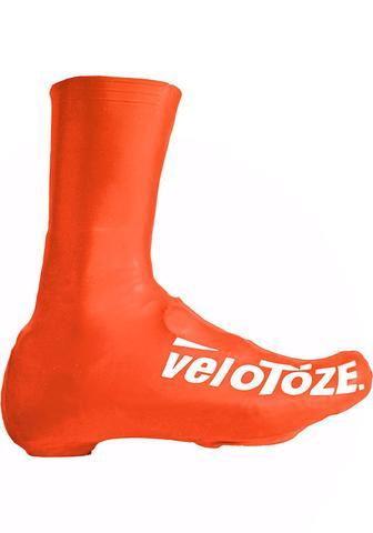 Velotoze Shoe Cover Tall - Orange XL - Cycles Galleria Melbourne