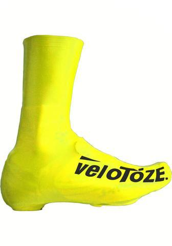 Velotoze Shoe Cover Tall - Yellow M - Cycles Galleria Melbourne