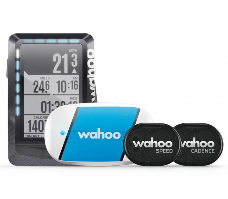 Wahoo ELEMNT GPS Bundle (HRM,Speed,Cadence)