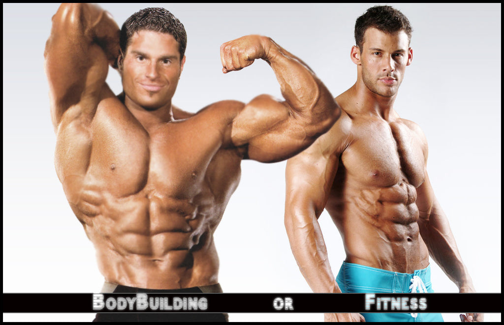 Difference Between Body Building And Fitness Workout