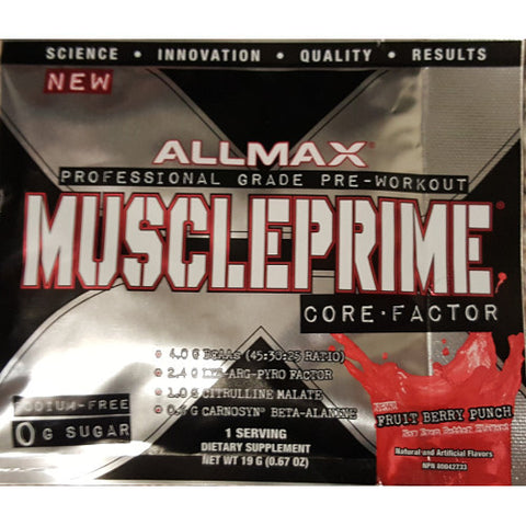 AllMax Muscleprime Sample