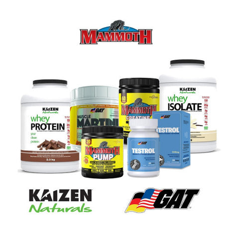 Gain Weight Stack 3 Mix Match for Men