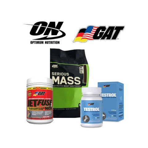 Gain Weight Stack 4 Mix Match for Men