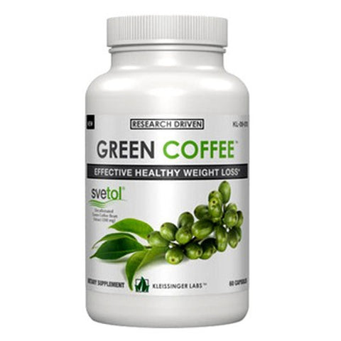 Kleissinger Labs Green Coffee Bean 60 caps