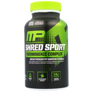 MusclePharm Shred Sport 30 Serving, 60 Count