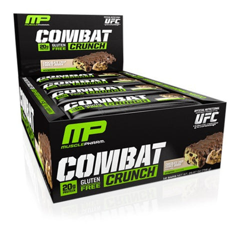 MusclePharm Combat Crunch Bar x12 756g