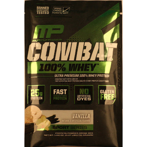 MusclePharm Combat Whey Sample