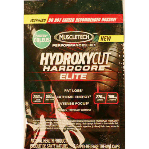 MuscleTech HydroxyCut Sample