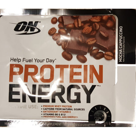 Optimum Nutrition Protein Energy Sample