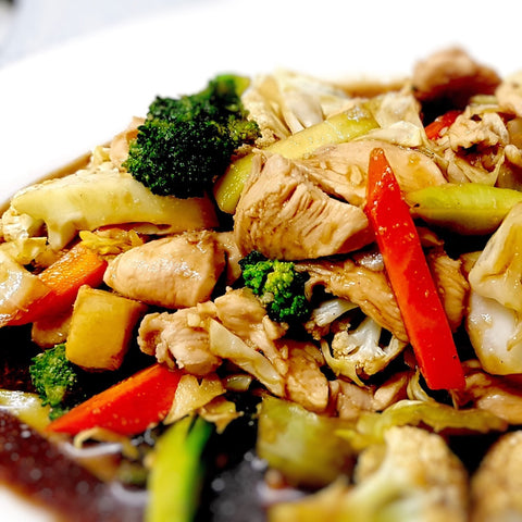 18. Stir Fried Vegetables