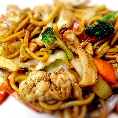 31. Stir Fried Black Bean Hokkien Noodle