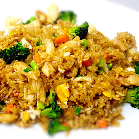 49. Fried Rice (With Meat)