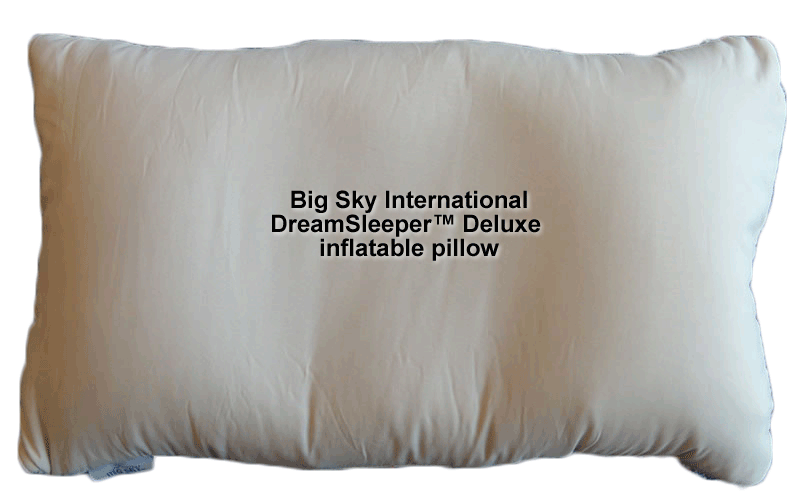 Big Sky DreamSleeper(TM) Deluxe inflatable pillow