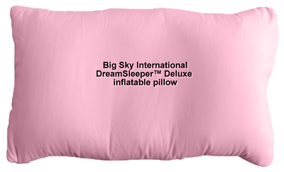 Big Sky DreamSleeper(TM) Deluxe inflatable pillow, color: Rose PINK