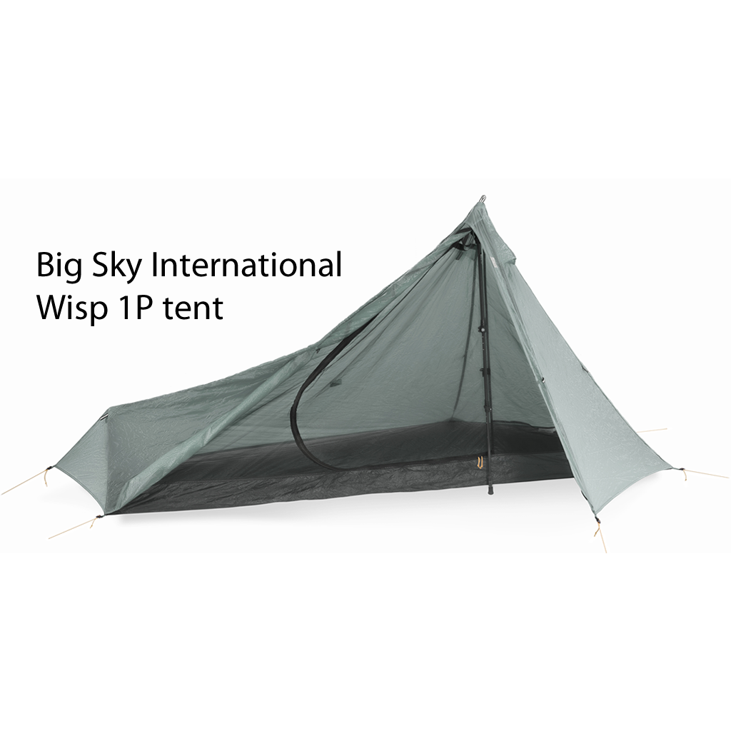 "Big Sky Wisp 1P ""Super Bivy"" ""Moon View"" tent"