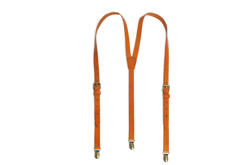 How to measure and size the leather suspender?