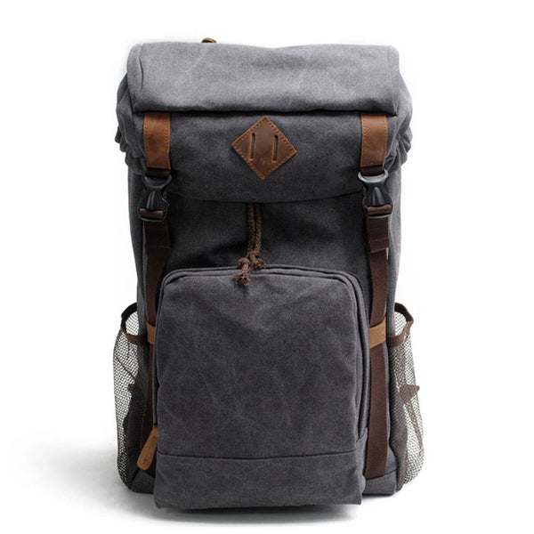 Canvas Backpack Rucksack School Backpack AF16