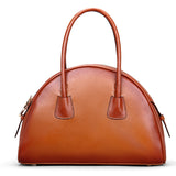 Real Leather Handbags Women Handbags Lady Tote Bag SL9437 - Unihandmade