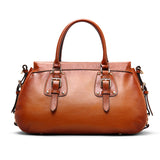 Women Genuine Leather Designer Handbag Fashion Satchel Bag Handbag SL9173 - Unihandmade