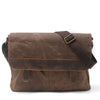 Waterproof Canvas Crossbody Bag Messenger Shoulder Bag AF45ND