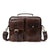 Handcrafted Top Grain Leather Briefcase, Leather Messenger Bag, Shoulder Bags for Men MLT8114