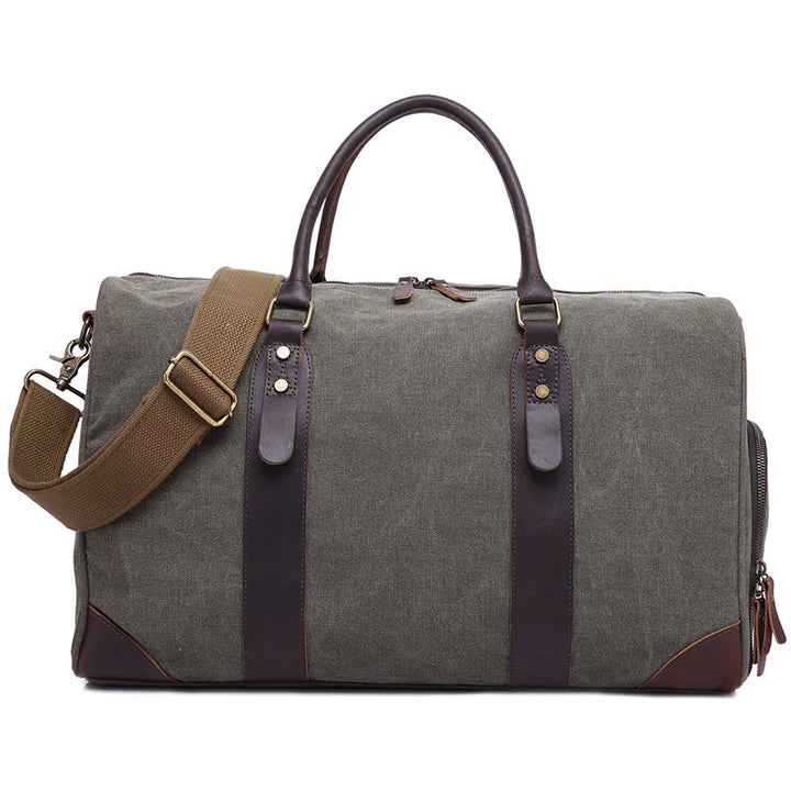 Leather Travel Bag Duffle Bag Weekender Bag