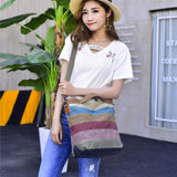 Women's Canvas Shoulder Hand Bag Cross body Bag FB15