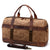 Handmade Waxed Canvas Travel Bag Duffel bag Waterproof Weekend Bag