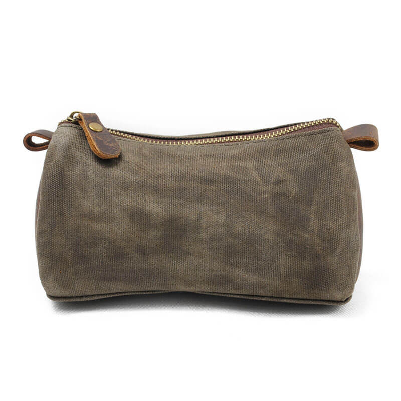 Handmade Canvas Clutch Daily Casual Clutch Toiletry Bag MC9122 - Unihandmade