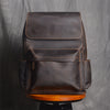 Free Shipping Handmade Leather Backpack Travel Backpack Men Backpack NZ11 - Unihandmade
