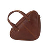 Handmade Full Grain Women Leather Handbag Cross body Bag Triangle bag YD8258 - Unihandmade