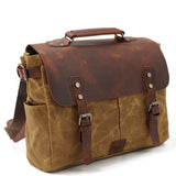 Canvas DSLR Camera Messenger bag Canvas Shoulder Camera Bag MC16960ND - Unihandmade