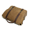 Waterproof Canvas Satchel Messenger Bag Vintage Canvas Travel Bag MC16970 - Unihandmade
