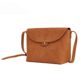 Handmade Top Grain Leather Messenger Bag Women Satchel QY8626 - Unihandmade