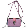 Handmade Waxed Leather Women Satchel Leather Cross Body Bag Shoulder Bag  QY8679