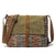 Handmade Canvas Leather Messenger Bag School Satchel Travel Bag FX3323
