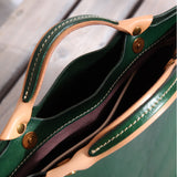 Ladies Handbags Full Grain Leather Handmade Cross body Bag Designer Handbags  CF37 - Unihandmade