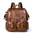 Handmade Top Grain Leather Backpack, Travel Backpack, Men Backpack MLT8115