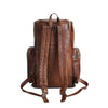 Handmade Full Grain Leather Backpack Travel Backpack Hiking Backpack MT06 - Unihandmade