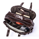 Handmade Top Grain Leather Laptop Messenger Bag Leather Briefcase for Men MLT8893 - Unihandmade