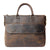 Handmade Vintage Leather Men Briefcase Leather Messenger Bag YS8013
