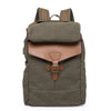 Handmade Canvas Backpack,  Rucksack School Casual Backpack Laptop, Backpack with USB Charge YD5508 - Unihandmade