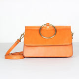 Handmade Full Grain Leather Satchel Women Desinger Handbag Crossbody Bag ZD7316 - Unihandmade