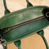 Ladies Tote Bag Full Grain Leather Handmade Cross body Bag Designer Handbags BR6054 - Unihandmade