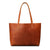 Women Tote Bag Handmade Vegetable Tanned Full Grain Leather Shopping Bag Shoulder Bag ZB-01