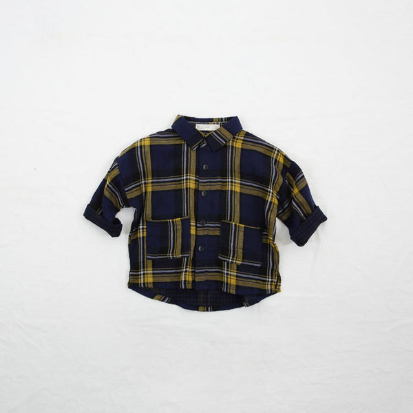Checks Shirt with Pockets