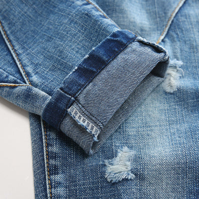 Washed Blue Denim